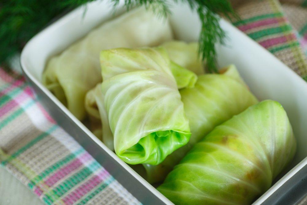 Ricette di involtini vegetariani con cavolo - verza e zucca